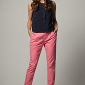 Льняные брюки H&M ( L )