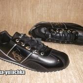 Кожаные кроссовки Dolce&Gabbana