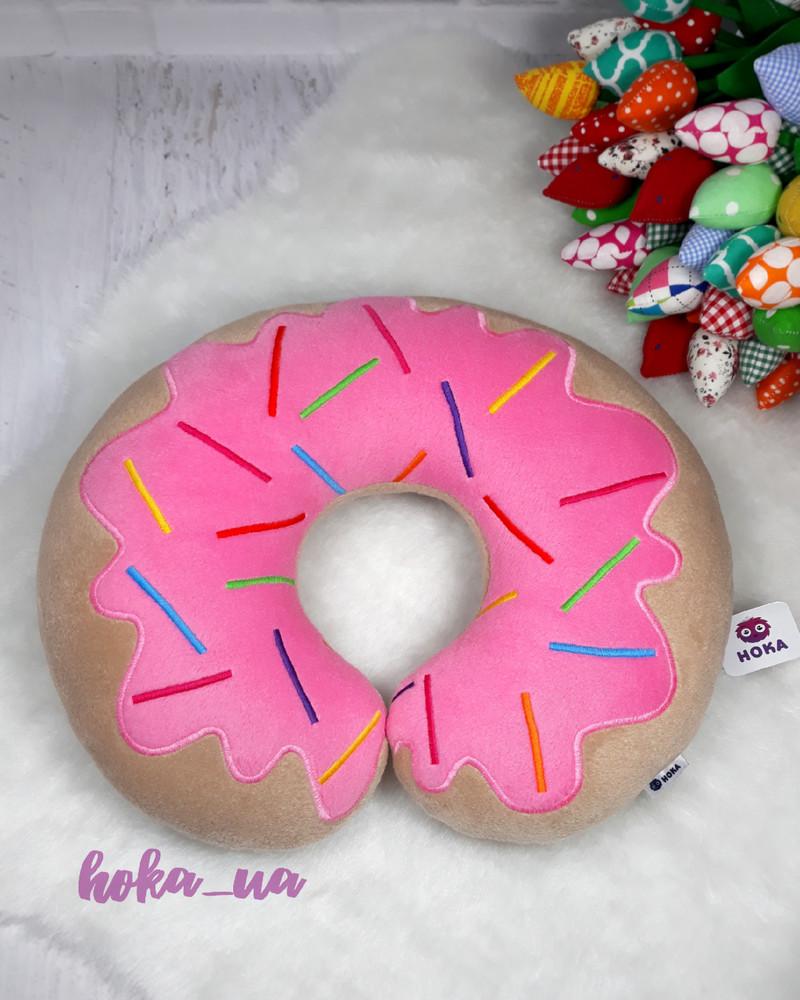 Автомобильная подушка, дорожная подушка пончик фото №1