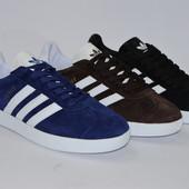 Мужские Adidas Gazelle, три цвета
