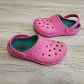 Утепленные Crocs J1