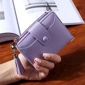Стильный красивый вместительный кошелек, 4 цвета, новый