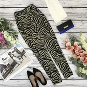 Шикарные брюки с принтом сафари  PN1831136