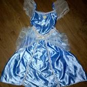 Платье принцесса Золушка 2-3года(92-98см)!