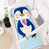 Пингвинёнок Лоло -детский спальник-слипик, спальный мешок
