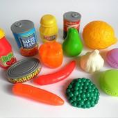 Набор продуктов овощи фрукты консервы продукты магазин