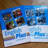 Книги English Plus  Ben Wetz с диском новые