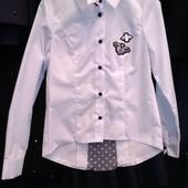 """Школьная нарядная рубашка  """"Пчелка"""" от производителя"""
