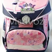 Школьный рюкзак для девочек розовый бабочки Kite 3473-4
