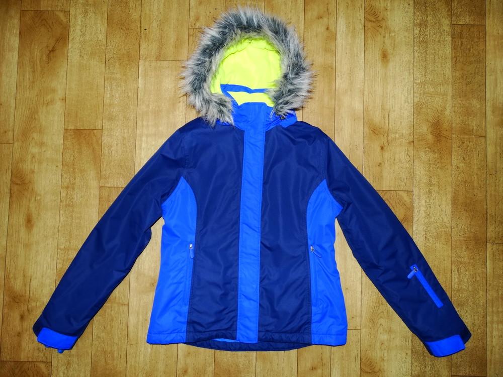 Р.158-170 теплющая зимняя термо куртка на флисе johnnie b фото №1
