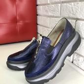 Туфли броги в стиле Balenciaga, es-1106-3