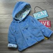 Куртка кофта M&S с машинками (6-9 мес)
