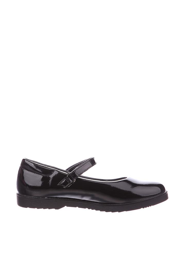 Туфли для девочки солнце 27, 28, 29, 30, 31(р) черный xs19-15 школьные туфли для девочки черного фото №2
