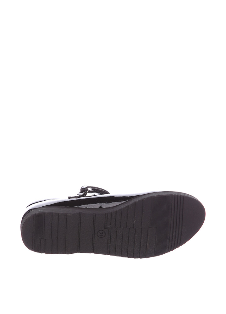 Туфли для девочки солнце 27, 28, 29, 30, 31(р) черный xs19-15 школьные туфли для девочки черного фото №4