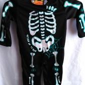 Новый карнавальный костюм Скелет р.92
