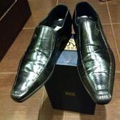 Туфли 100% нат.кожа Mario Bruni р-р 42 - 28 см.