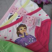 Трусики для маленьких принцесс 3-6 лет