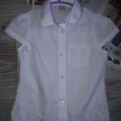 TU Очаровательная блузка рубашка 9 л 134 см Сток