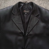 Кожаный мужской пиджак -куртка. торг