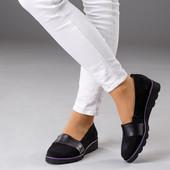 Новинка! женские замшевые туфли код:КК 281018