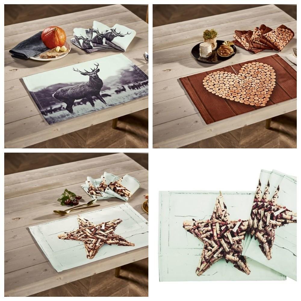 Большие салфетки сервировочные или для гостей, meradiso германия, комплект 2 шт. фото №1