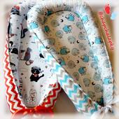 Кокон для новорожденного Гніздечко для немовлят