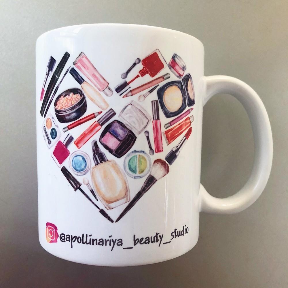 Чашка для визажиста makeup фото №1