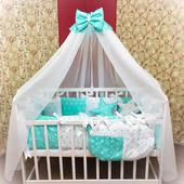 Детское постельное белье в кроватку! Много расцветок!