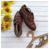 Кожаные туфли монки Milan Footwear рр 41
