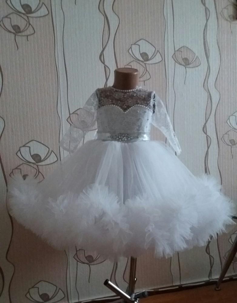 Платье ''снежинка'' фото №1
