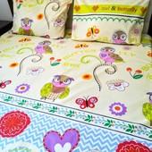 Детский постельный комплект Яркая милая расцветка! Отличное качество!