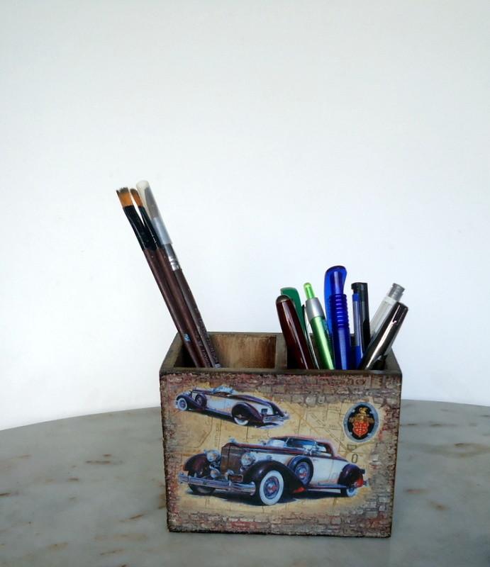 Подставка для ручек карандашей. фото №1