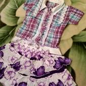 комплект одежды для девочки на 3-4 года.