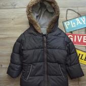 Куртка с капюшоном George зима(9-12 мес
