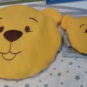 Подушка со льном грелка-компресс Мишка