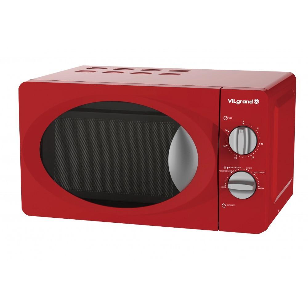 Микроволновая печь vilgrand vmw-7204 red фото №1