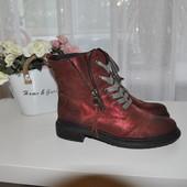 Кожаные ботинки Soje 37р 24см