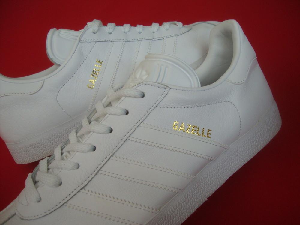 Кроссовки Adidas Gazelle оригинал натур кожа 43-44 размер 28.5 см фото №1 6decf01c017