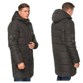Длинная мужская зимняя куртка 48-56 р.