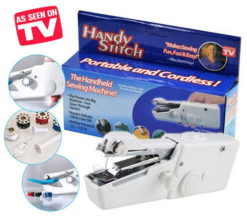 Ручная швейная машинка - handy stitch - автономная, фото №1