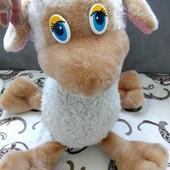 Очень миленькая игрушка- овечка