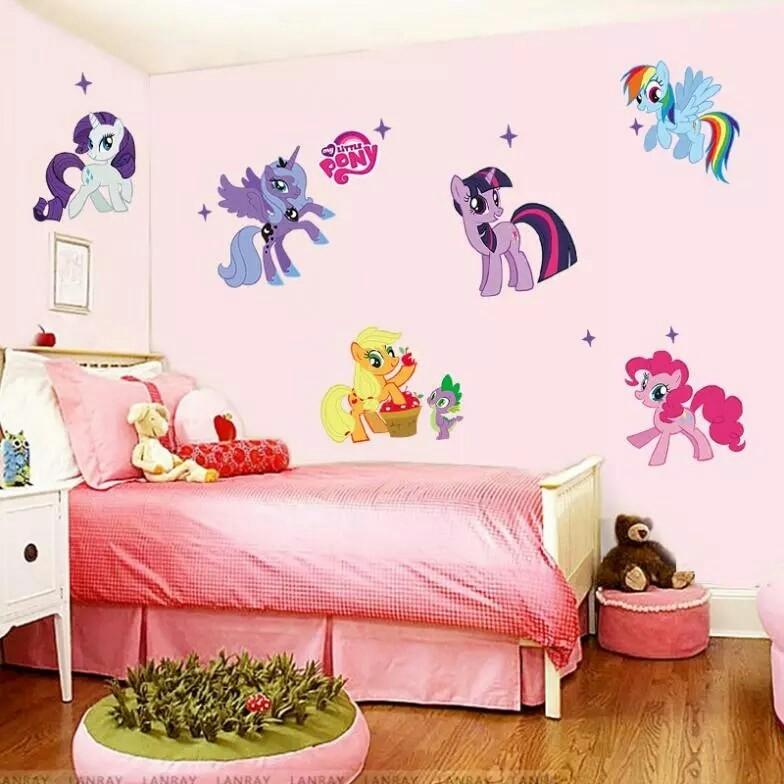 Интерьерная наклейка май литл пони (my little pony), фото №1