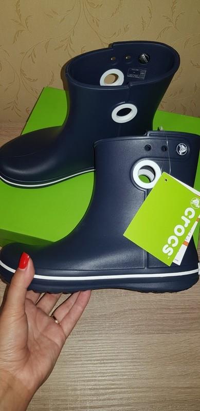 Сапожки крокс crocs jaunt shorty boot, 36-37-38 размер фото №1