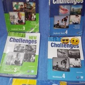 Challenges 3 , 4 student s Book Английский