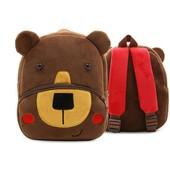 Рюкзак велюровый Bear Berni