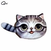 Детские клатчи-кошельки с мордашкой котика, новые