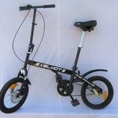 Городской велосипед Velmot компактный и маневренный