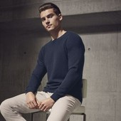 Мужской пуловер, свитер меринос р. XL 56-58 Livergy Германия