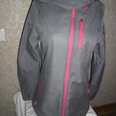 Жіноча куртка софтшел дощовик фірма janina Німеччина