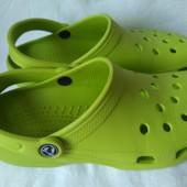 Кроксы Crocs оригинал m5-w7 стелька 24,5 см